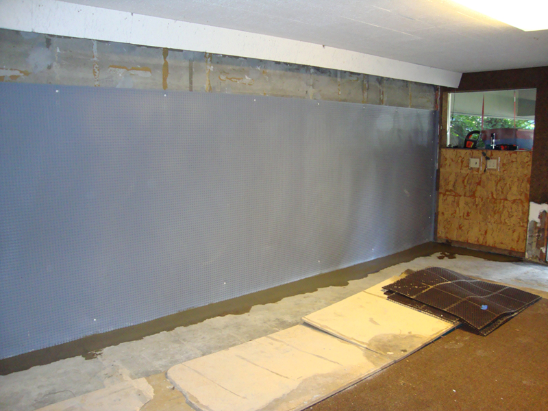 Basement Foundation Wall Moisture Barrier Perma Dry