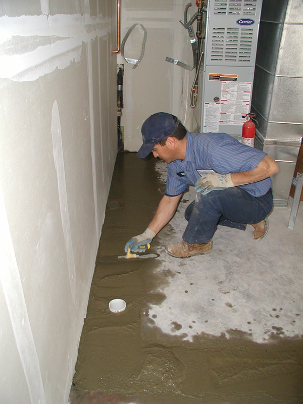 Interior basement drainage systems perma dry waterproofing - Interior basement drainage systems ...